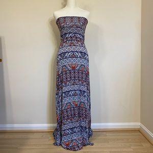 Strapless maxi dress / skirt